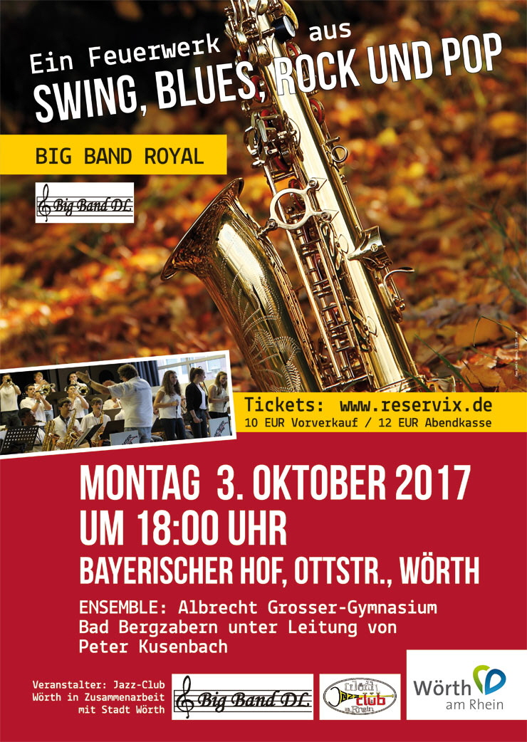 Poster Big Band Konzert